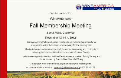 Meeting invite Fall 2012