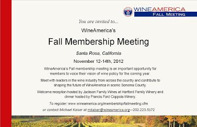 Meeting invite Fall 2012