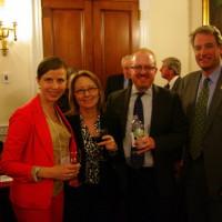 Tara Good, WineAmerica – Jennifer Montgomery, Nebraska Winery and Grape Growers Association – Michael Kaiser, WineAmerica - Robert Hurt (R-VA)