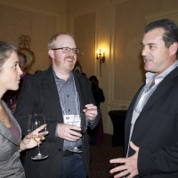 Liz Foster, Michael Kaiser, WineAmerica and George Christie of Wine Industry Network